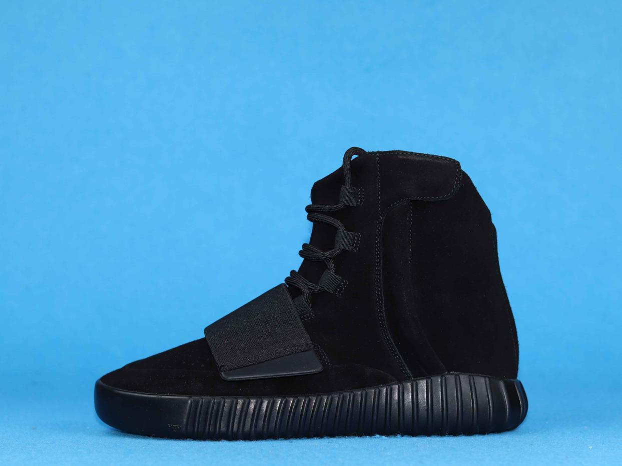 adidas Yeezy Boost 750 Triple Black 1