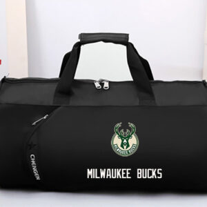 2016 NBA Milwaukee Bucks Black Bag