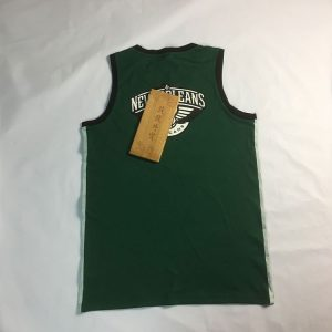 2018 New Orleans Pelicans Retro Style Green 1