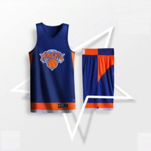 2019 BasketMan NY Knicks Navy Uniform