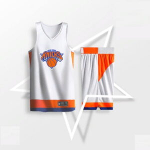 2019 BasketMan NY Knicks White Uniform