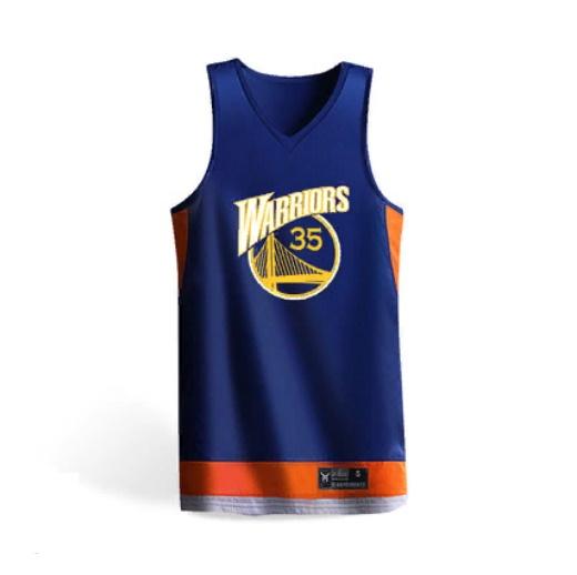 2019 Golden State Warriors Blue Orange