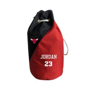 2020 Chicago Bulls Jordan 23 Black Red Bag