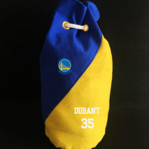 2020 Golden State Warriors Durant 35 Blue Bag