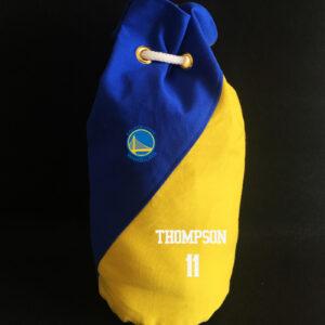 2020 Golden State Warriors Thompson 11 Blue Yellow Bag