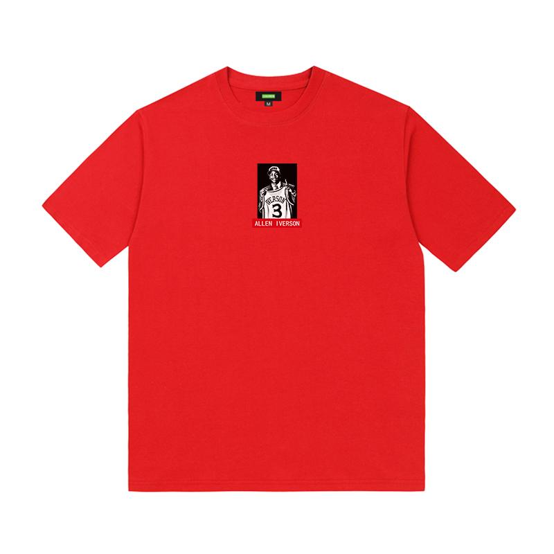 2020 Kalan Allen Iverson 3 Memorial Tee Red