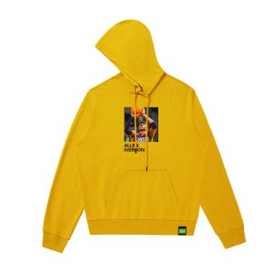 2020 Kalan Allen Iverson Hoodie Yellow