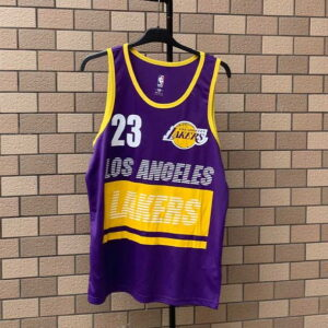 2020 Los Angeles Lakers 23 Purple