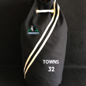 2020 Minnesota Timberwolves Towns 32 Black Bag