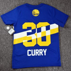 2020 NBA Golden State Warriors 30 Blue