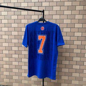 2020 NBA New York Knicks Anthony 7 Blue 1