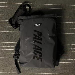2020 Palace Black Reflective Bag