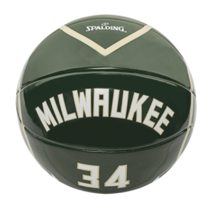 2020 Spalding NBA Milwaukee Antetokounmpo 34 Ball