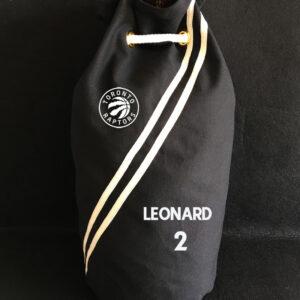 2020 Toronto Raptors Leonard 2 Black Bag