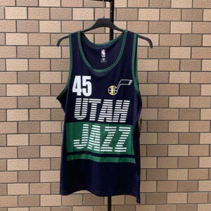 2020 Utah Jazz Dark Blue 45
