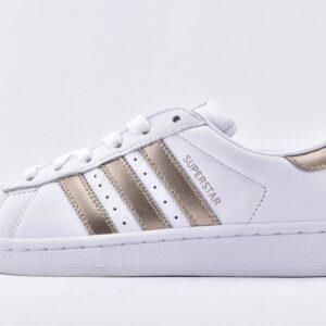 Adidas Wmns Superstar White Metallic 1