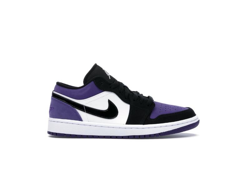 Air Jordan 1 Low Court Purple