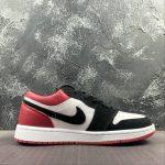 Air Jordan 1 Low GS Black Toe 2
