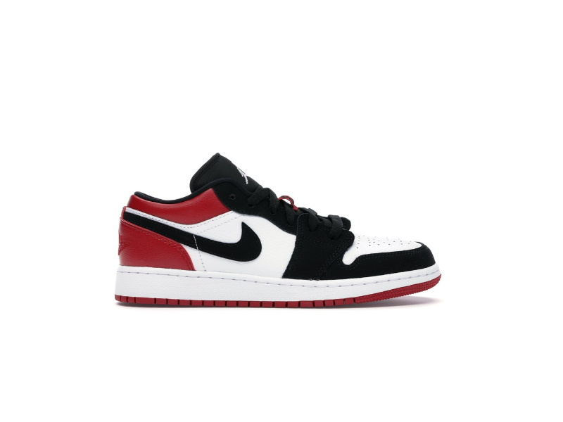Air Jordan 1 Low GS Black Toe
