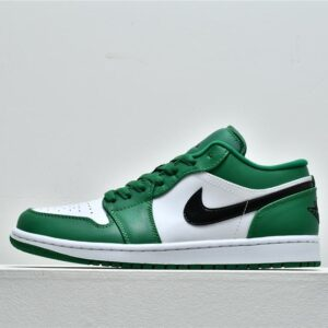 Air Jordan 1 Low GS Pine Green 1
