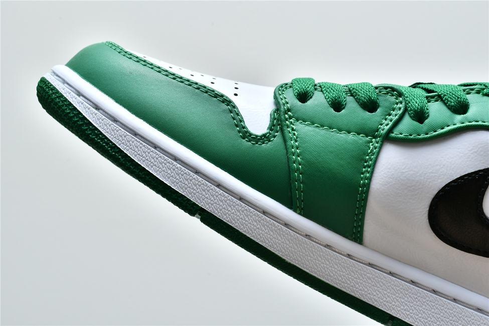 Air Jordan 1 Low GS Pine Green 14