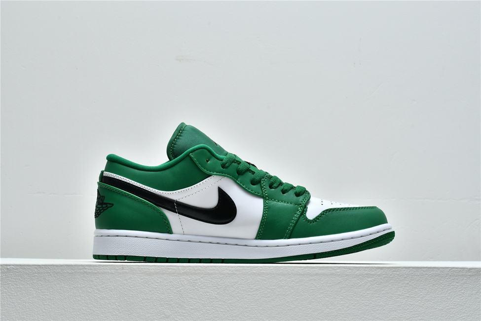 Air Jordan 1 Low GS Pine Green 2