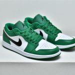 Air Jordan 1 Low GS Pine Green 8