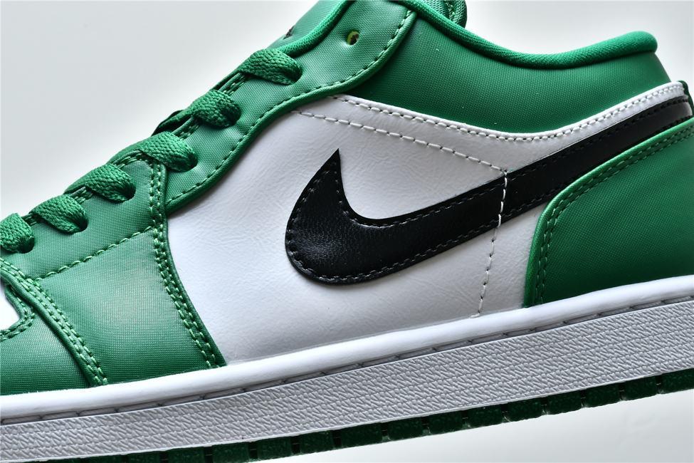 Air Jordan 1 Low GS Pine Green 9