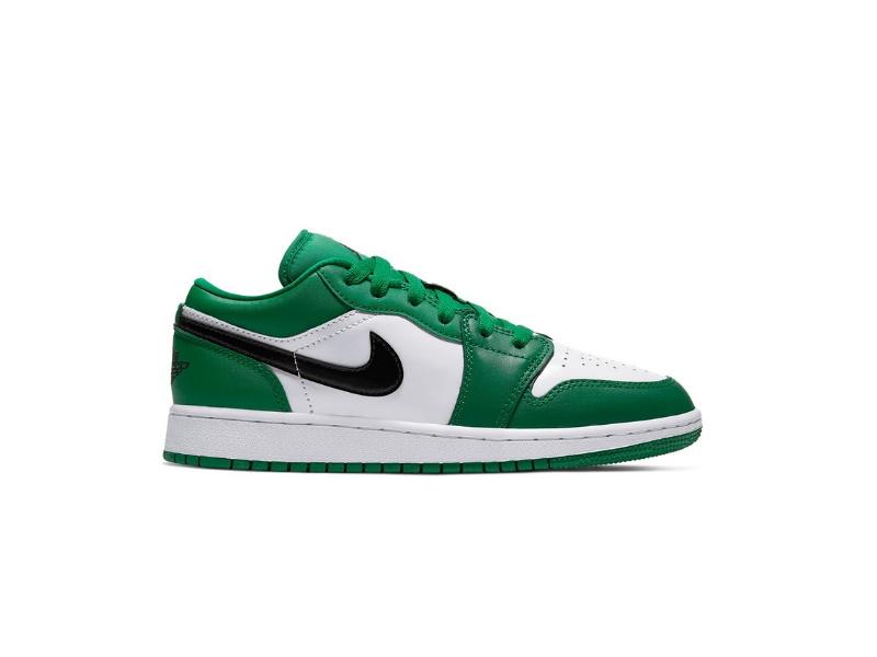 Air Jordan 1 Low GS Pine Green