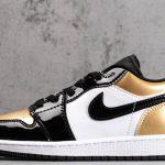 Air Jordan 1 Low Gold Toe 1