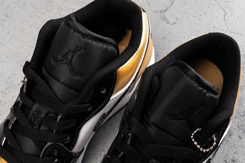 Air Jordan 1 Low Gold Toe 3