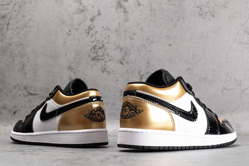 Air Jordan 1 Low Gold Toe 4