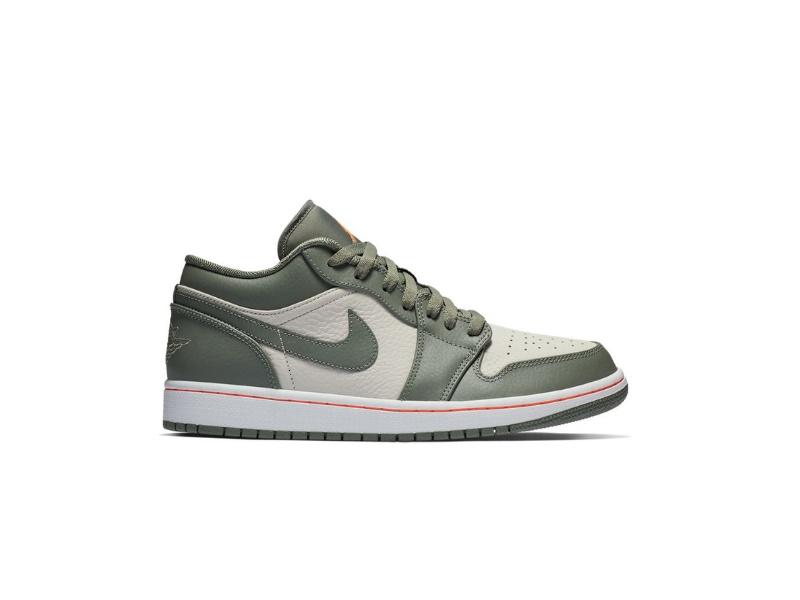 Air Jordan 1 Low Military Green