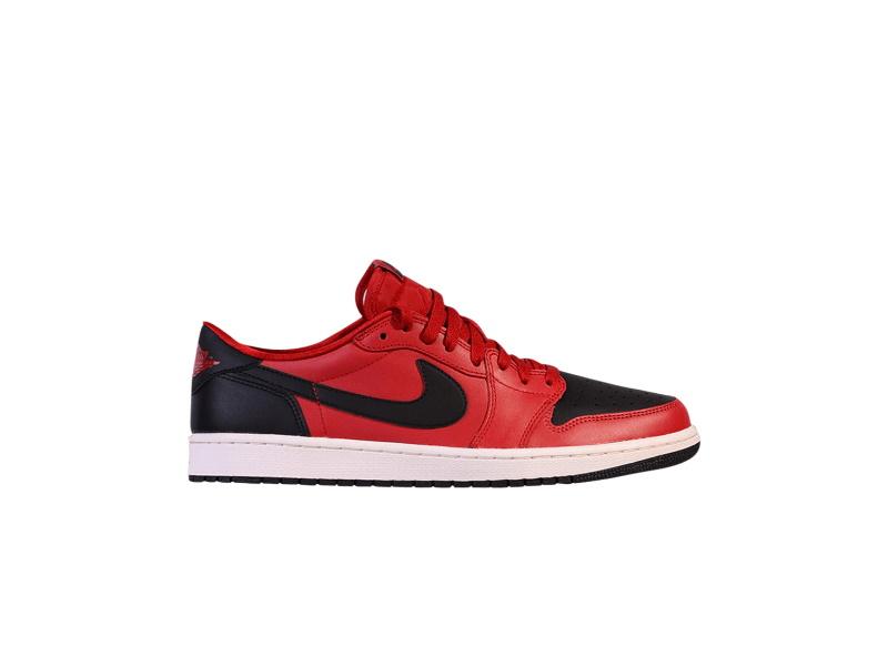 Air Jordan 1 Low OG Gym Red Black