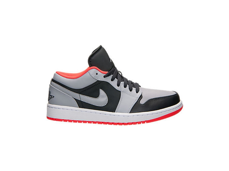Air Jordan 1 Low Wolf Grey Infrared