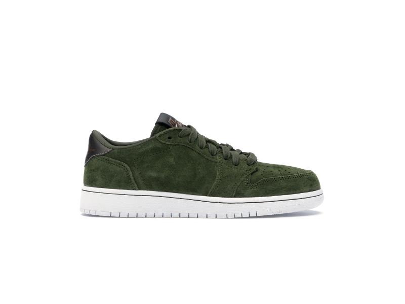 Air Jordan 1 Reto Low NS BG Legion Green