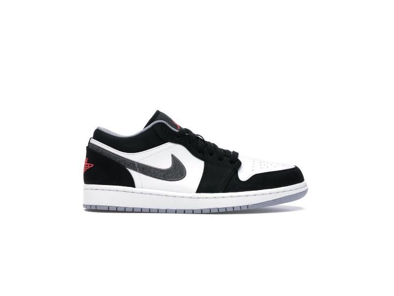 Air Jordan 1 Retro Low Black Infrared