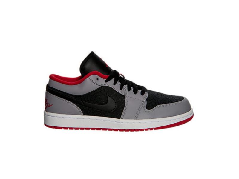 Air Jordan 1 Retro Low Cement Grey Black