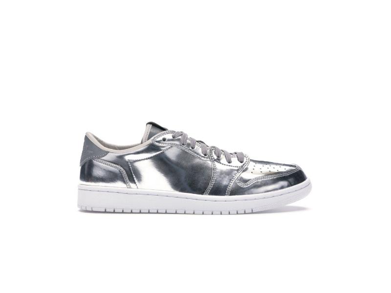 Air Jordan 1 Retro Low OG Pinnacle Metallic Silver