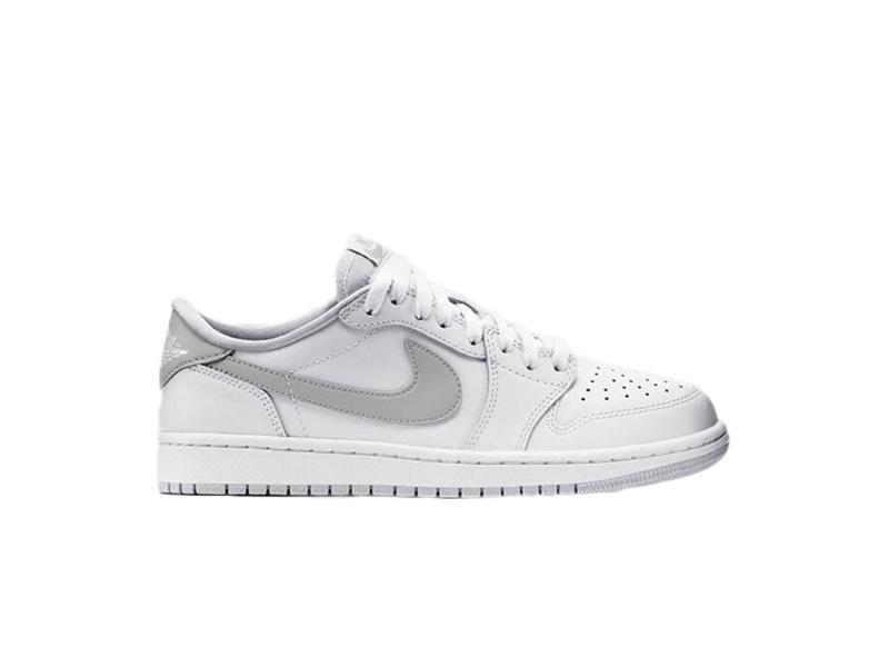 Air Jordan 1 Retro Low OG White Neutral Grey
