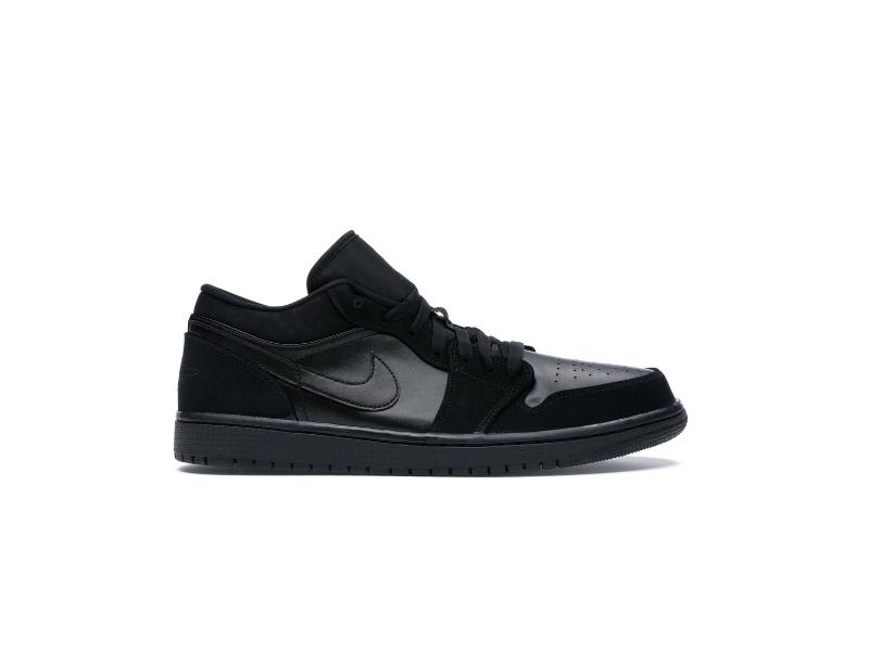 Air Jordan 1 Retro Low Triple Black 1