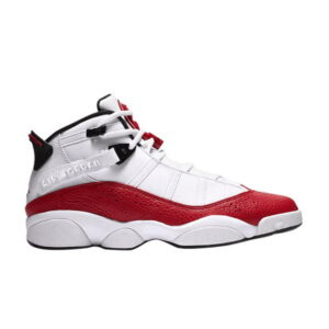 Air Jordan 6 Rings White University Red