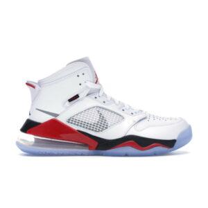 Air Jordan Mars 270 White Fire Red