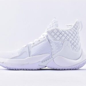 Air Jordan Why Not Zer0.2 Triple White 1