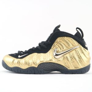 Air Nike Foamposite Pro Metallic Gold 1