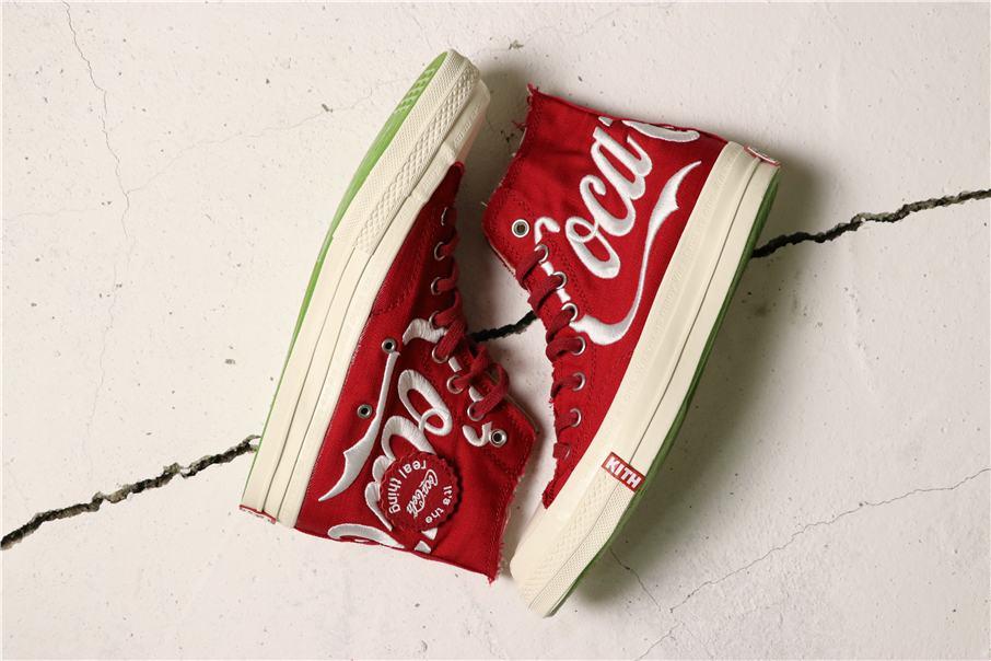 Converse Kith x Coca Cola x Chuck 70 Hi America 2