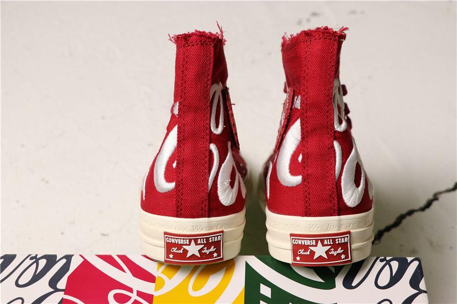 Converse Kith x Coca Cola x Chuck 70 Hi America 3