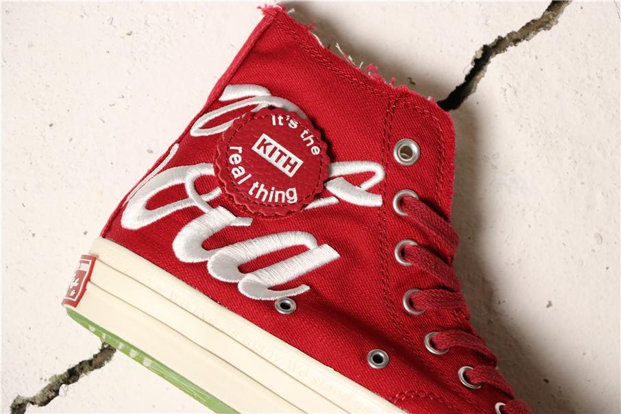 Converse Kith x Coca Cola x Chuck 70 Hi America 6