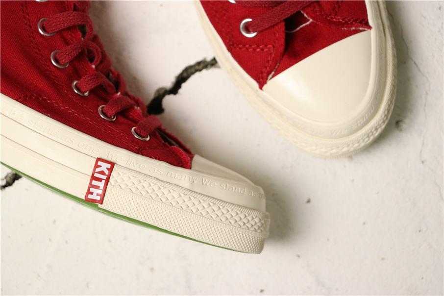Converse Kith x Coca Cola x Chuck 70 Hi America 7