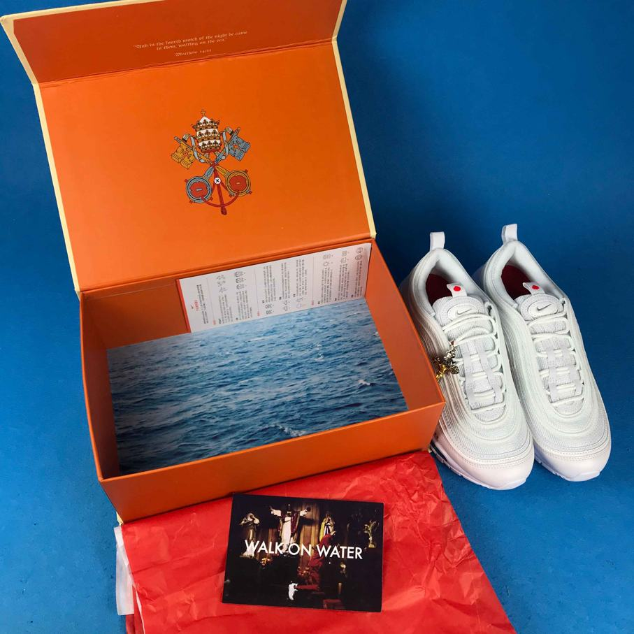 MSCHF x INRI x Air Max 97 Jesus Shoes Custom 13
